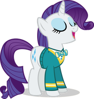 Rarity is Fabulous singer by CantercoltZ