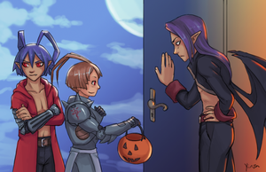 Disgaea - Trick-or-Treat by yinza