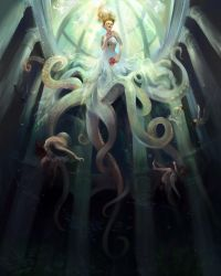 The Ascension of Te Wheke by luciole