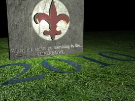 new orleans superbowl by panchotley