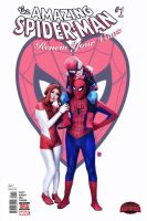 Amazing Spider-Man Renew Your Vows cover by GwensdayAddams