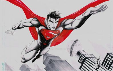 Man of Steel Commission by JazzRy