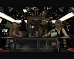 Star Girls: Burps like a Wookiee! by Edheldil3D