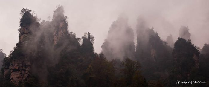 The Misty Mountains by gnohz