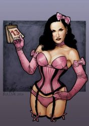 Dita von Teese: Friday 13th by ThePin-upGallery