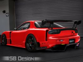 Mazda RX7 by SB-Design