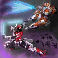 Drift and Ratchet by IssiAndrofen