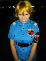 Seras Victoria cosplay by littlezoombie