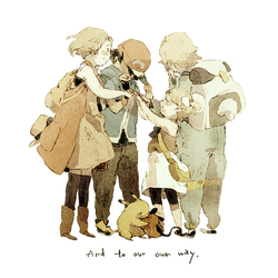 And to our own way by Luce-in-the-sky