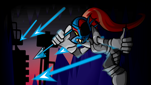 [Undertale] Undyne by Sapphyde90