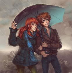 Rainy day by Razurichan