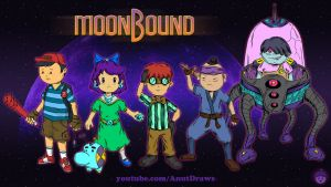 MoonBound by AnutDraws