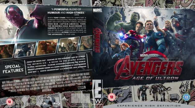 AVENGERS: AGE OF ULTRON Phase Two by MrPacinoHead