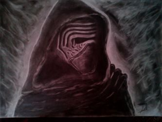 Kylo ren illustration by Vipers1