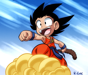 Goku by rongs1234