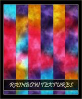 Rainbow Textures by arca-stock