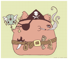 Pirate Poofs Ahoy v.1 by Nemoness