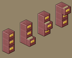 Isometric Fileing Cabinet by Deathdog3000