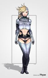 Char Concept 01 by Thyae