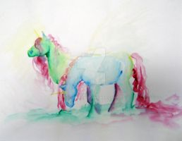 Fanciful Unicorns by Dhria