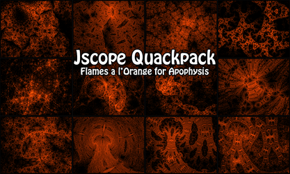 Juliascope Quackpack: A Dozen Ducks For You by plangkye