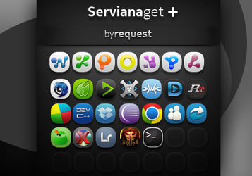 ServianaGetPLUS by request by hpluslabels