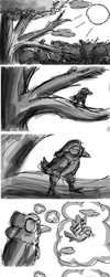 Into Limbo- Introduction Storyboard by The-Heraldic-Sword