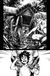 The Cape : Fallen Issue #2 Page 2 inks by Spacefriend-KRUNK