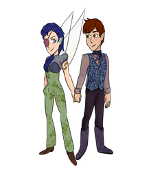 Lilith and Edan by popinat