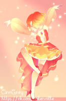 [P] Sunset Pearl || SU OC + Speedpaint by CinnGrey
