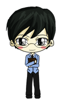Kyoya by IcyPanther1