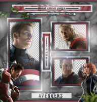 +Avengers photopack png by ForeverTribute