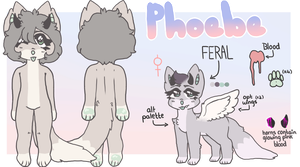 phoebe reference sheet by ssofties