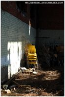 Yellow Chairs by MauserGirl