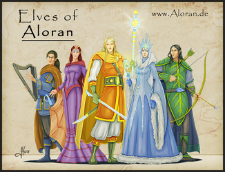 Elves of Aloran 2 by Iphis