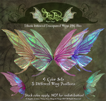 Fancy Fairy Titania Stock Fairy Wings PNGs by FaeryAzarelle