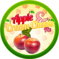 Apple and Cream Cheese Pie by Echilon