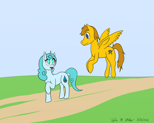 Happened To Be Passing By by AnimeVeteran