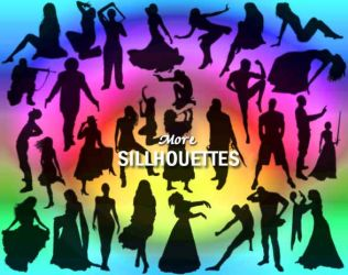 More Sillhouettes by memories-stock