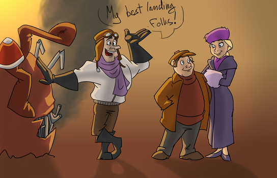 The Rescuers by gnomKOLIN