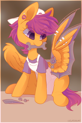 Scootaloo by HiccupsDoesArt