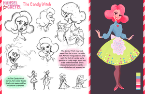 The Candy Witch - Model Sheet by DylanBonner