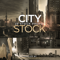 City Stock Pack 001 by sohappilyart