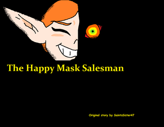 The happy mask salesman : cover by SaintsSister47