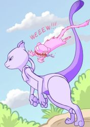 Why Mewtwo hates Mew by EvilKitty3