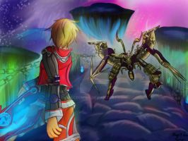 Xenoblade Chronicles - Encounter with the Enemy by Glaceon168