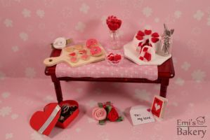 Miniature Valentine's Day 2014 by EmisBakery