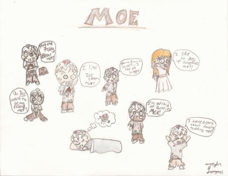 The Amazing Afterlife of Moe by PhyscoChicky