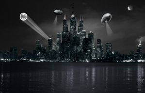 Gotham City by dblake