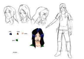 Ryushi Character Sheet by Imbriaart